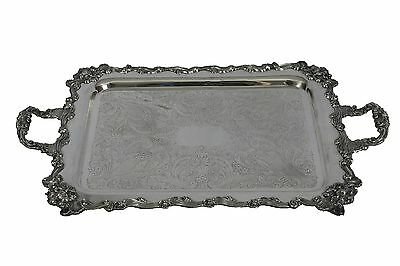 Sheridan Sterling Silverplate Serving Tray 24¾ x  15¾