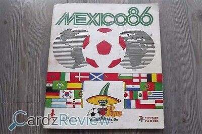 Panini World Cup Mexico 86 - Image - Stickers