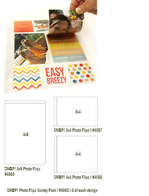 Simple Stories Photo Flips Variety  Pack (12 pieces) ~4068