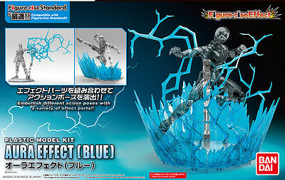 Dragon Ball Z Effect Aura Figure Rise Blue Azul Figura New Nueva
