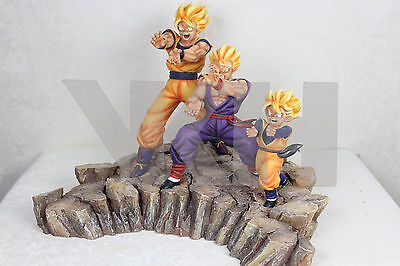 Dragon Ball Z Triple Kamehameha Resin Figure Figura Statue New Nueva