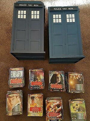 Dr Who Top Trumps Battles In Time 785 Cards In 2 Tardis Carry Cases