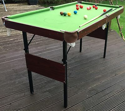 Snooker / Pool Table (4ft 6in)
