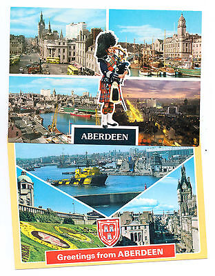 Scotland Aberdeen X 2 P/cards,outstanding Views And Both Not Posted,sellup Sale