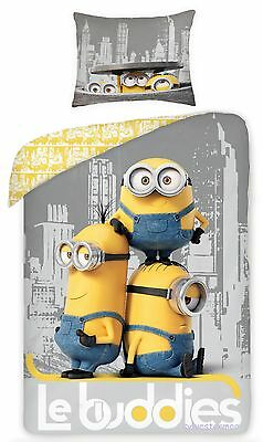MINIONS Le Buddies 07 Single Bed Duvet Cover Set 100% COTTON