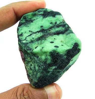 764.00 Ct Natural Ruby Zoisite / Anyolite Loose Gemstone Rough Specimen - 4433