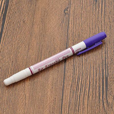 Fabric Marker Pen Air Erasable Disappearing Ink Replace Tailor's Chalk Sewing