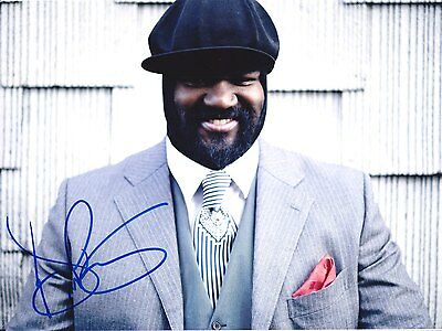 GREGORY PORTER Jazz legend SUBLIME PHOTO SIGNEE EN PERSONNE avec preuve !!