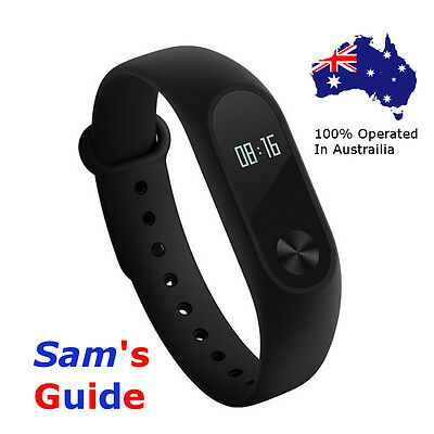Xiaomi Mi Band 2 Heart Rate Smart  Watch Wristband Fitness with White