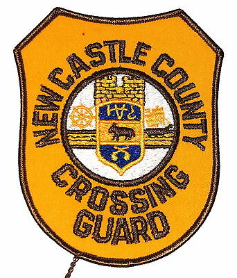 NEW CASTLE COUNTY – CROSSING GUARD - DELAWARE DE CAMPUS POLICE Sheriff Patch ~