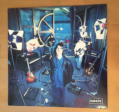 Signed Noel & Liam Gallagher Oasis Supersonic Vinyl Rare With Proof & Coa