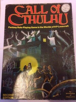 Call of Cthulhu 2nd Edition Boxed Set (1983)