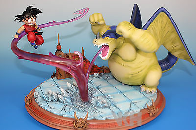 DRAGON BALL Z RESINA GOKU GOKOU vs GIRAN RESIN FIGURE FIGURA STATUE.