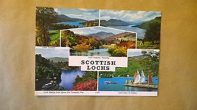 A postcard of Scottish Lochs,Scotland.