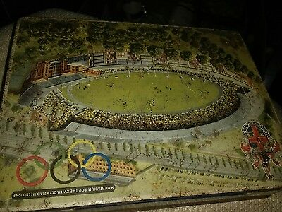 RARE M A CRAVEN & SON Olympic Melbourne Olympics 1956   tin.