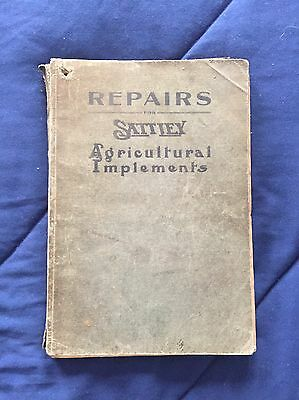 Antique Sattley Farm Implements Repairs Catalog Original Early 1900s 262 Pages
