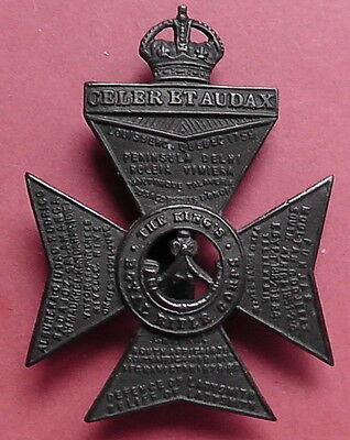 Kings Royal Rifle Corp. Other Ranks Cap Badge