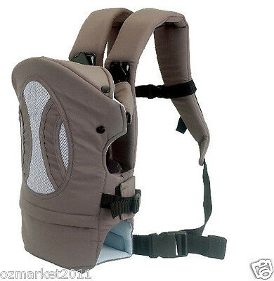 Grey Security Zero To Eighteen Months Back-pack Baby Sling All Code !@&