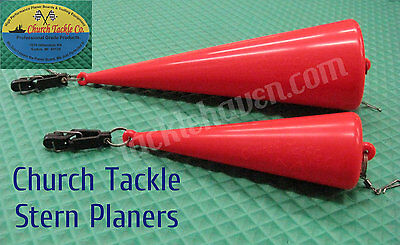 Church Tackle Stern Planers for Trolling TX-005 or TX-007 Choose Your Model!1