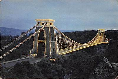 The Clifton Suspension Bridge by Night