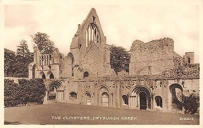 The Cloisters Ruins Dryburgh Abbey