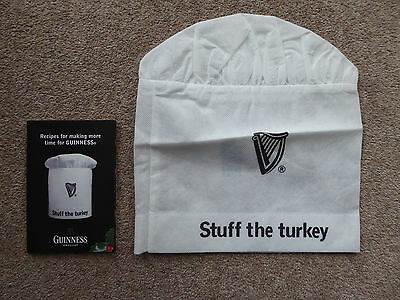 New GUINNESS Chef's Hat  & Recipe Booklet - Collectable