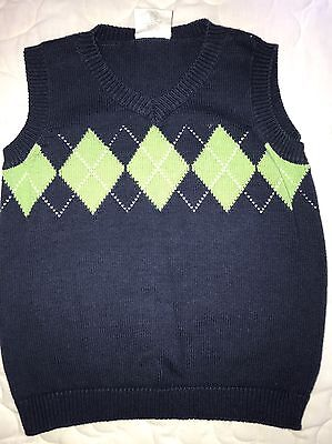 Boys Size 4 Years Crazy 8 Sweater Vest Dress Up Church
