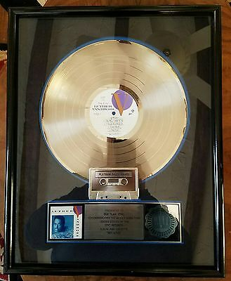 Luther Vandross-Any Love-Epic-One Of A Kind-Framed-Rare-Real Deal-Platinum-Lp !