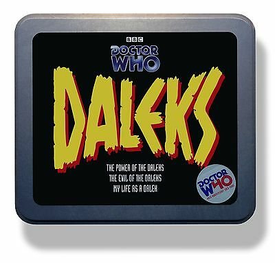 Dr Doctor Who Power & Evil of the Daleks LIMITED EDITION CD Tin Set NEW/SEALED