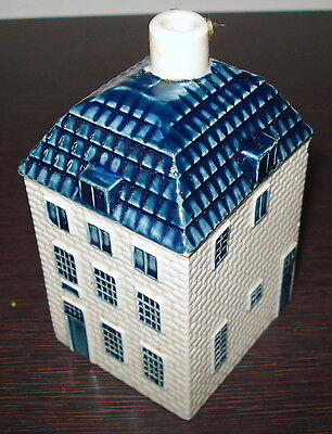 Old Blue Delft Klm Airline by Bols Royal Distilleries Miniature Decanter # 55