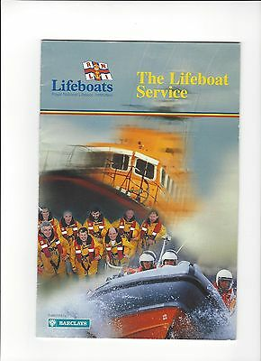 1997 The Lifeboat Service Full Colour Illustrated Booklet
