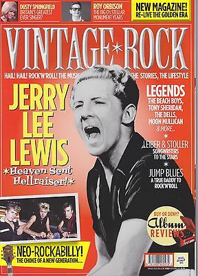 Vintage Rock Magazine - Issue 4 - Jerry Lee Lewis - Issued Autumn 2012