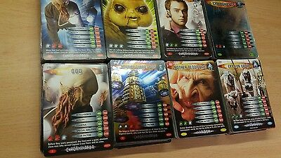 Huge lot of over 400  Dr Who Battles in Time cards.