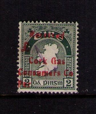 IRELAND STAMP SC#109 PRIVATE OVERPRINT USED ON MAIL Wmk 262 RARE,RARE