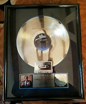 Luther Vandross-Never To Much-1981-1 Of A Kind-Framed-Real Deal-Platinum-Rare