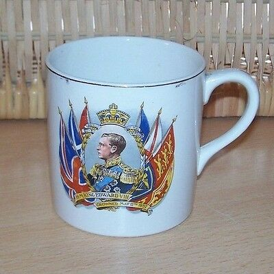 1937 King Edward VIII Coronation Commemorative Mug