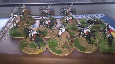 1/72 Airfix French Cavalry Waterloo Painted and Based