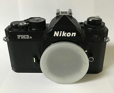 Nikon FM3A 35mm SLR Film Camera Body