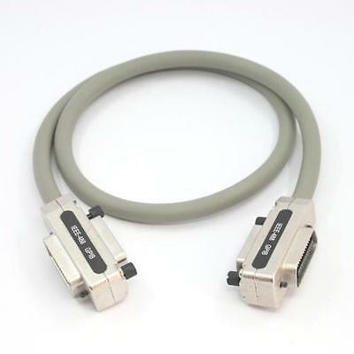 1 metre Male/Female IEEE488 to Male/Female IEEE488 Parallel Cable Assembly