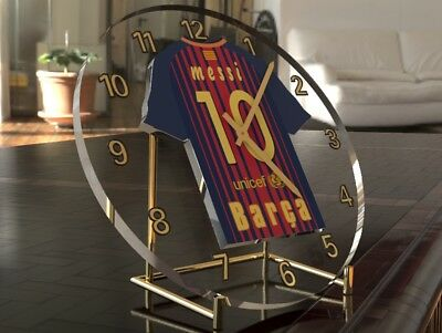 LIONEL MESSI FC BARCELONA Football Legend Clock - WORLD FOOTBALL LIMITED EDITION