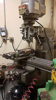 Bridgeport Vertical Milling Machine Variable Speed Mill - 2HP -  Power Feed