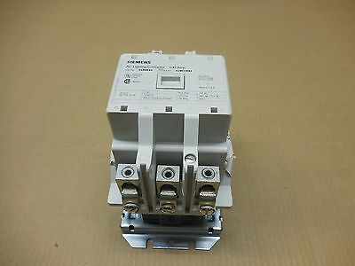 1 New Siemens Clm0E03208 Lighting Contactor 100 Amp 3 N.o. Open 100A 208V Coil