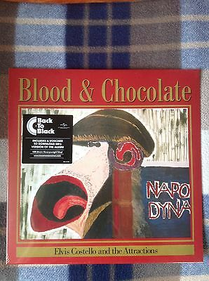 ELVIS COSTELLO AND THE ATTRACTIONS Blood And Chocolate LP 180g Vinyl(NEW&SEALED)