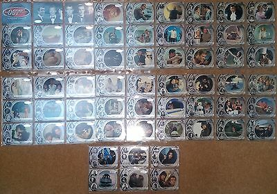 40th ANNIVERSARY - JAMES BOND Trade Cards Complete set 60 cards 2002