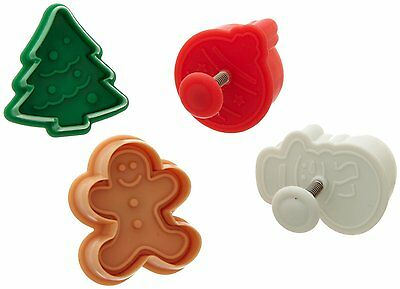 Ateco Plunger/Cutter Set - Christmas