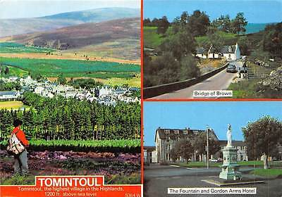 Tomintoul The Fountain and Gordon Arms Hotel Bridge of Brown