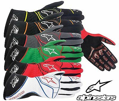 Alpinestars Tech 1-kx Karting Handschuhe,Ideal für Autograss & Kart RACING S -