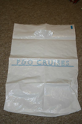 p and o cruises carrier bag