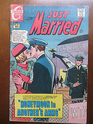 Charlton Comic - #60 Just Married Oct 1968