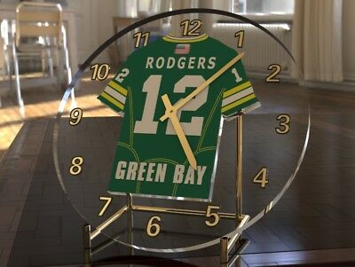 AARON RODGERS NFL GREEN BAY PACKERS AMERICAN FOOTBALL Legend Clock LIMITED STOCK